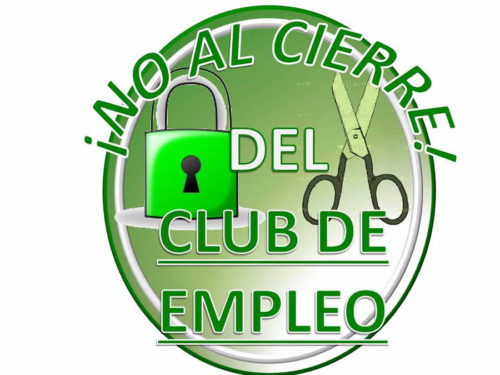 No al Cierre del Club de Empleo