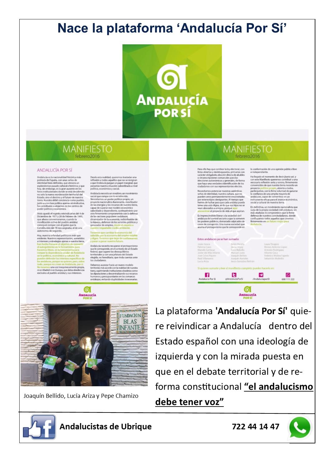 Photo of Boletín Ubrique Andalucista nº 2 (12 Mar. 2016)