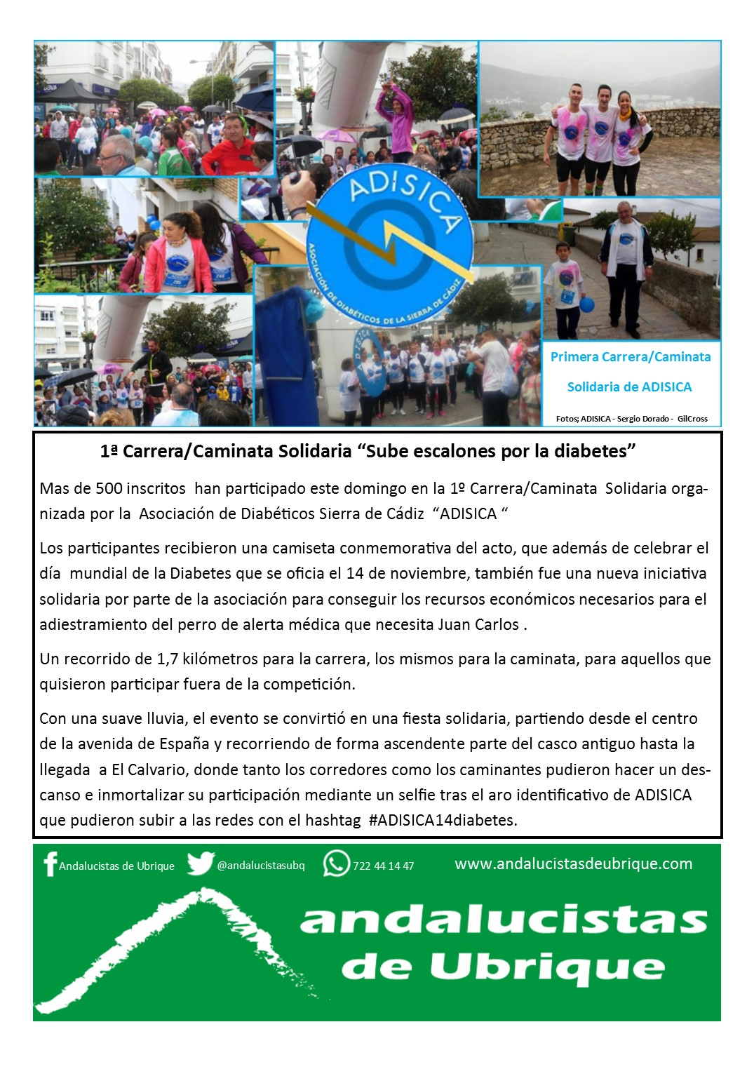 Photo of Boletín Ubrique Andalucista nº 11 (22 Nov. 2016)
