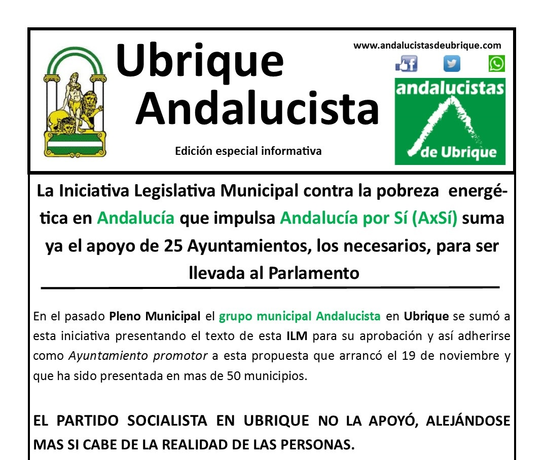 Photo of Boletín Ubrique Andalucista EDICIÓN ESPECIAL INFORMATIVA