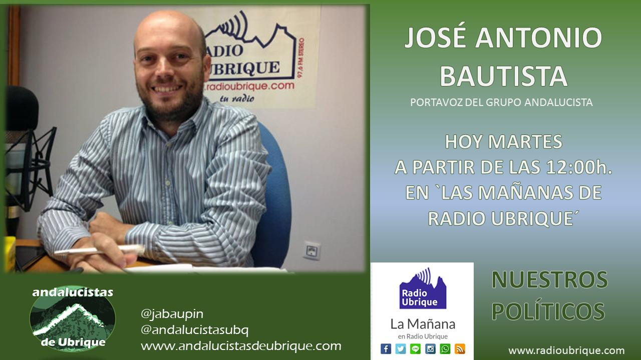 Photo of A las 12:00h. en Radio Ubrique
