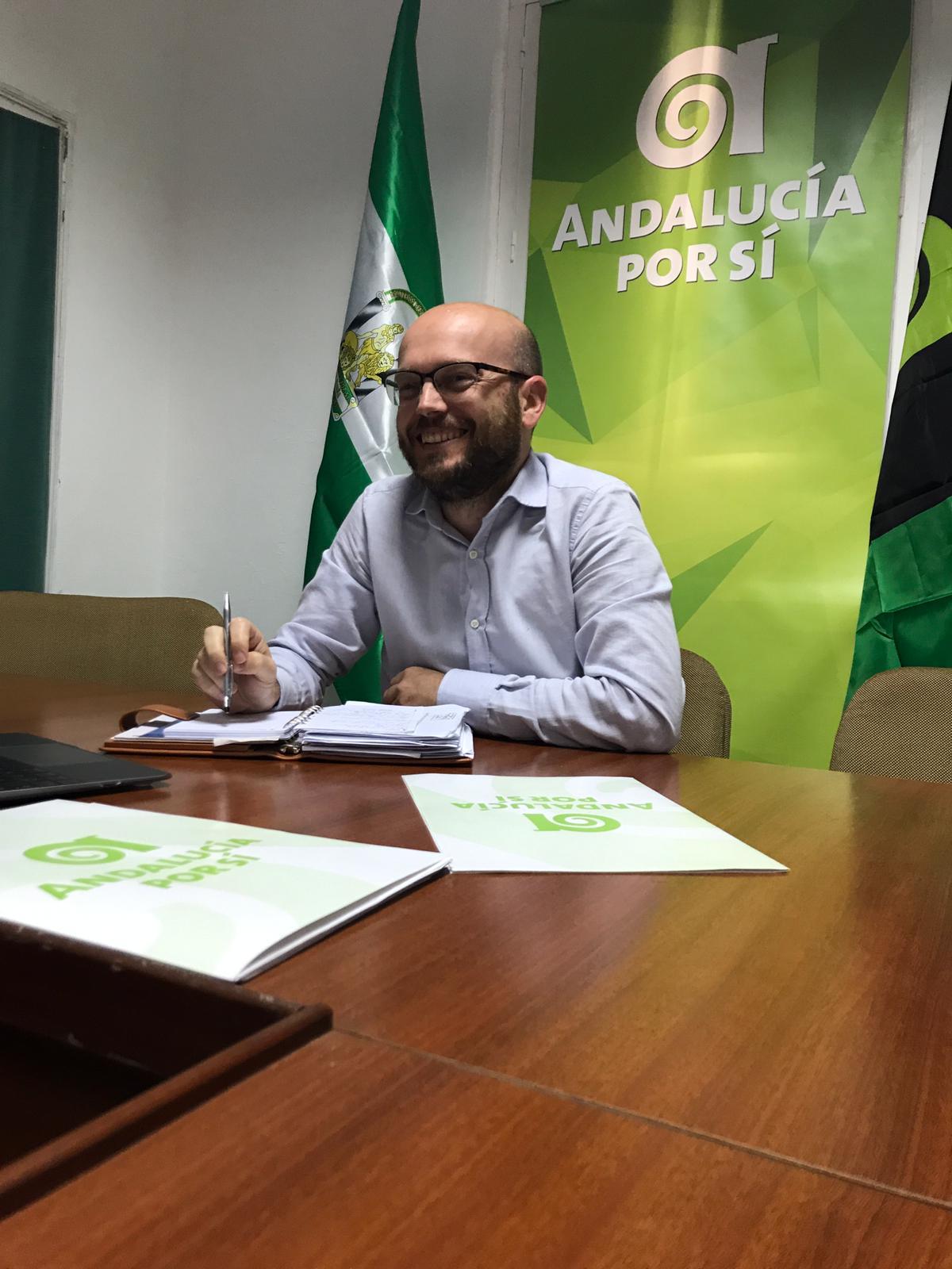 Photo of María Jesús Pérez y José Antonio Bautista, orgullosos de pertenecer al nuevo movimiento andalucista
