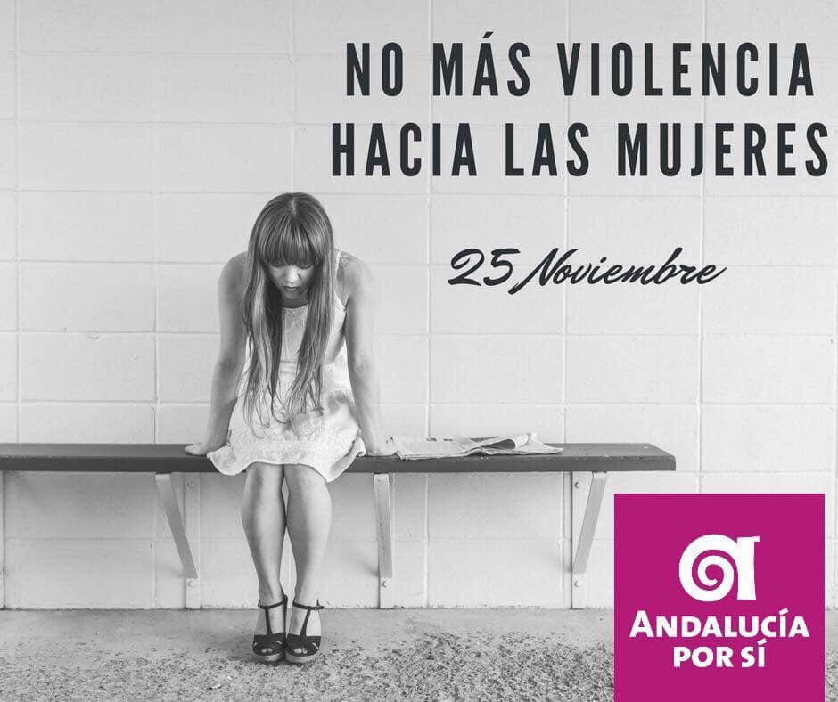 """Photo of Andalucía Por Sí plantea la """"guerra total y global"""" contra la violencia hacia la mujer"""